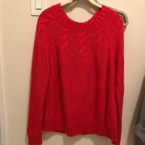 Aerie Red Sweater